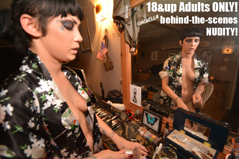 """Adults Only Video with Asphyxia Noir, """"Shop Talk"""""""